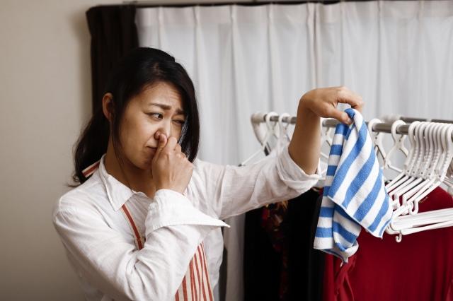 タオルの生乾きの臭いを取る方法