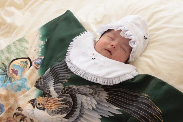 赤ちゃんのお宮参りの夏の服装