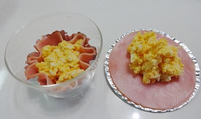 ゆで卵が失敗したときの活用お弁当のおかず