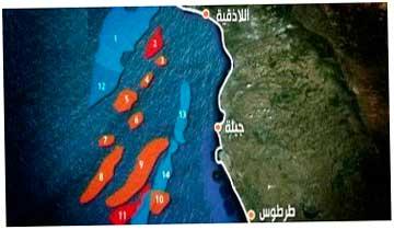 на шельфе Сирии