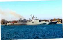 «Адмирал Григорович» получил пробоину