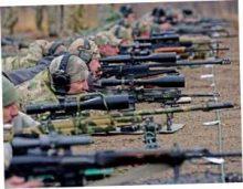 Российских снайперов опустили