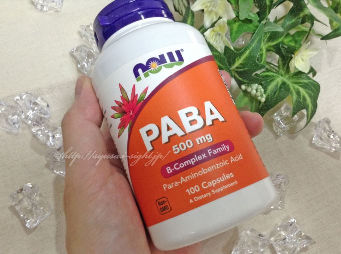 Now Foods, PABA