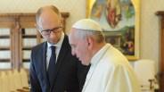 Arseny Yatsenyuk, Pope Francis