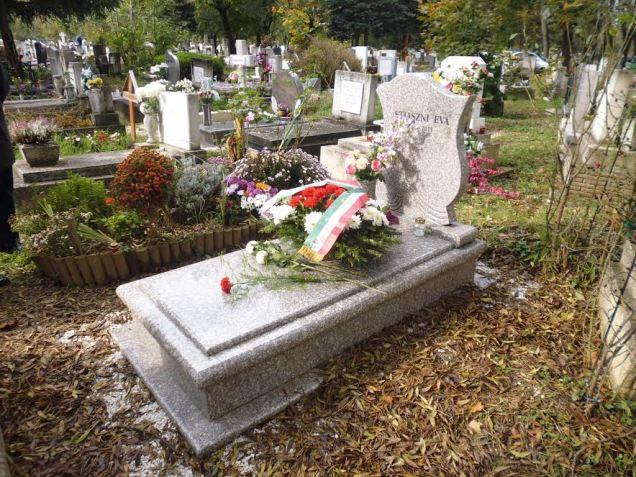 Stiaszni Éva sírja 2014.10.26-án - 4