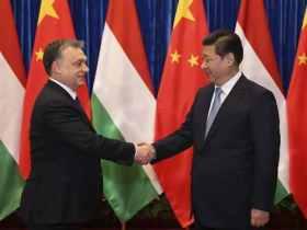 Orbán Viktor magyar miniszterelnök és Xi Jinping, a Kínai Népköztársaság elnöke
