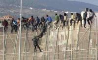Melilla, spanyol enklávé 'biztonsági határzár' - 1