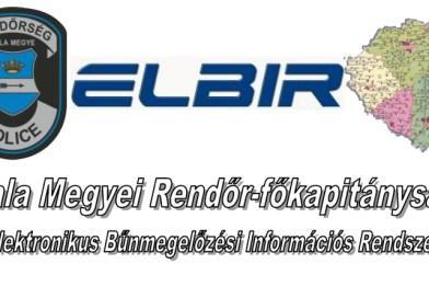 ELBIR hírlevelek 2020. – Zala