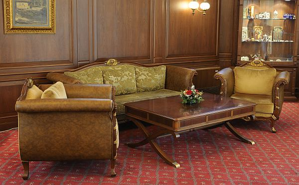 Luxus kis szálloda lobby