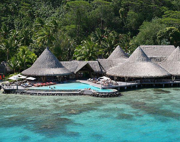 luxus szálloda Bora Bora