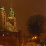 Krakkóban egy téli éjszaka