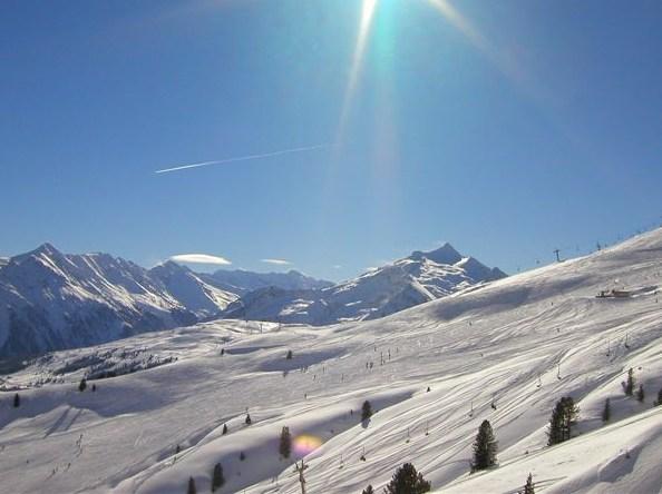 gyönyörű ausztriai hó