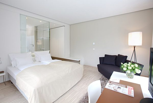 Hotel Am Domplatz 4**** modern szálloda szoba