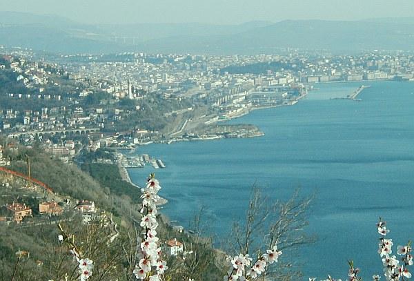 Trieszt, Trieste öböl, tenger kép