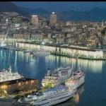 genovai kikötő