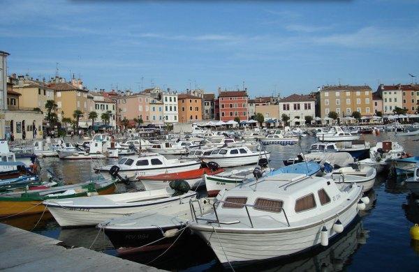 Horvátország déli része - kikötői hangulat