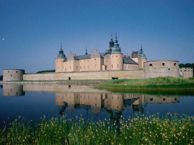 Kalmar slott kastély-vár Svédország