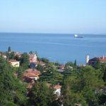 Koper: kilátás a tengerre egy apartmanból