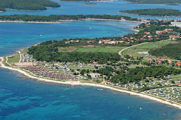 Medulin: Kazela kemping és a tengerpartok