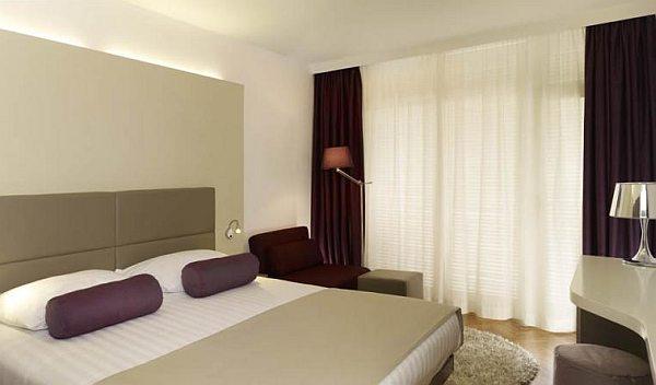 Park Plaza Medulin suite lakosztály hálószoba