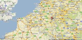 térkép Maastricht környéke
