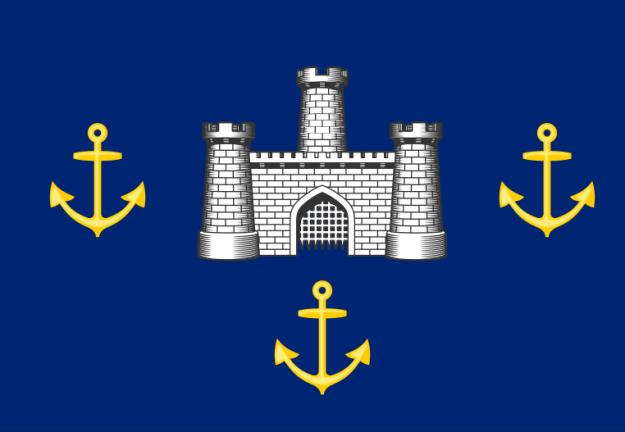 Isle of Wight zászlója