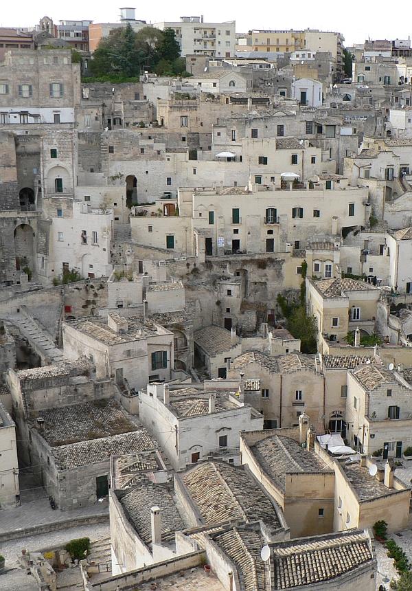 Basilicata óváros, történelmi városközpont