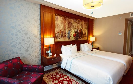 Neorion Hotel különágyas szálloda szoba