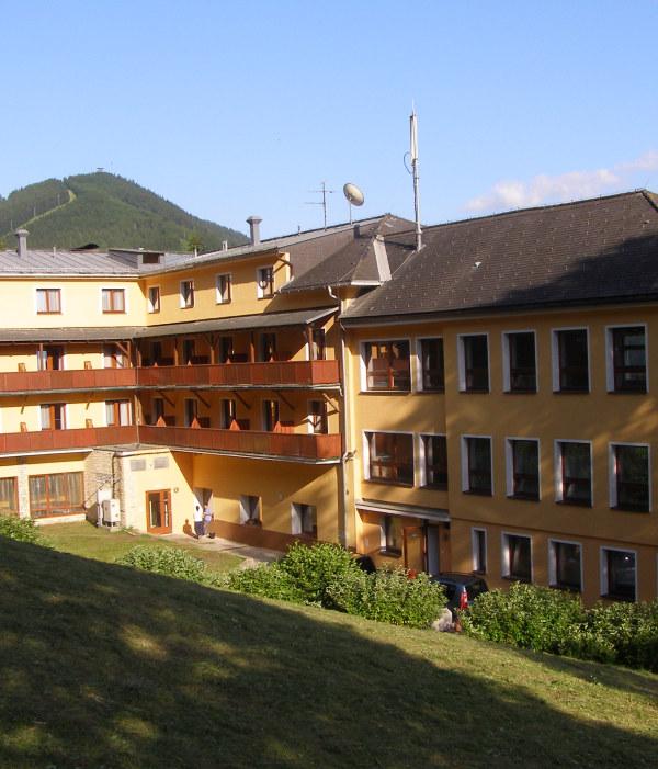 Alpenhof Hotel szállás épület