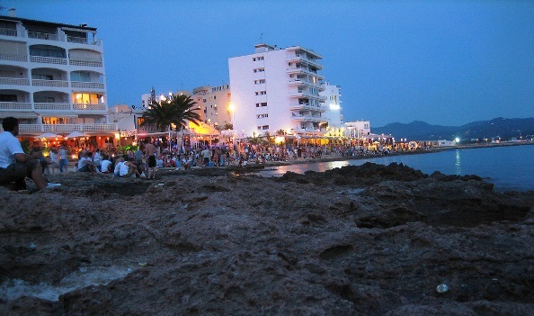 Bahia de Sant Antoni Spanyolország