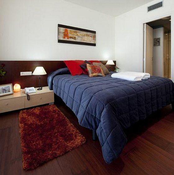 luxus, szálloda szoba