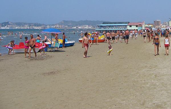 Durrёs strandja