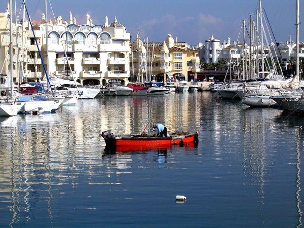 Benalmádena kikötő