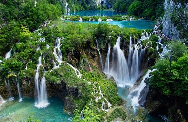 Plitvice vízesések