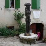 Groznjan szobor