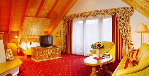 Kaunertal szálloda lakosztály