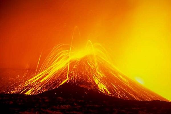 Etna láva