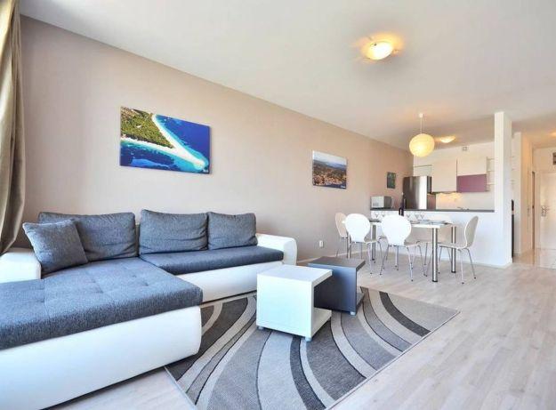Egy szoba a Bretia Apartmentsben