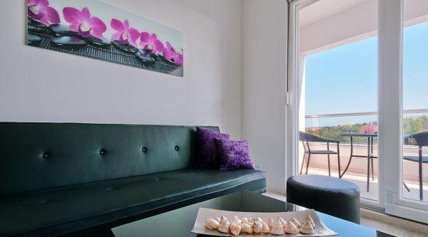 Perla Resort szoba kilátással