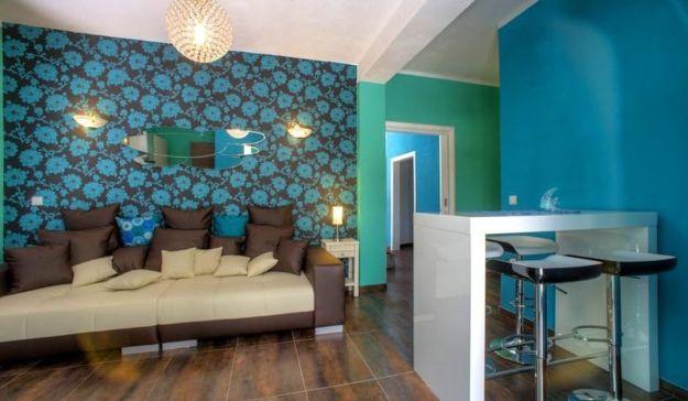 Villa Barbara egy szobája Skradinban