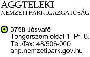 Aggtelek Cseppkőbarlang telefonszám