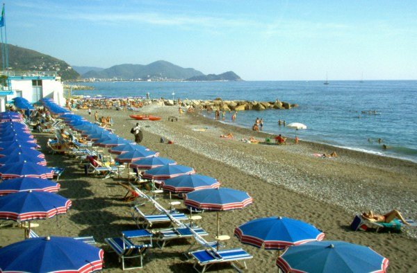 Lavagna Olaszország, tengerpartja
