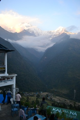 Nepal, trek to the ABC #2