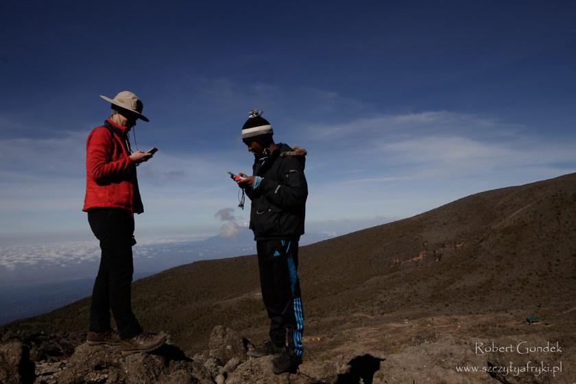 Telefonia komórkowe na Kilimandżaro