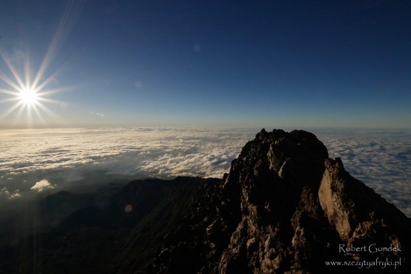 Widok z Mount Meru