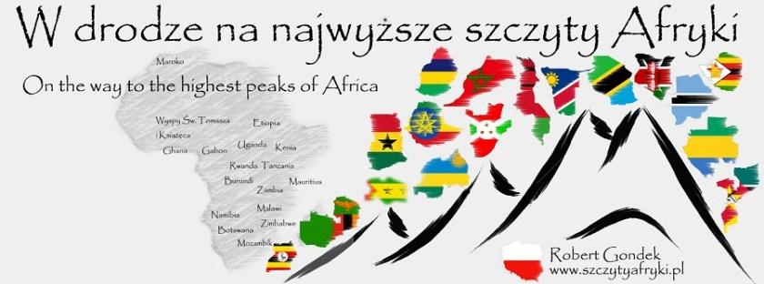 Logo projektu W drodze na najwyższe szczyty Afryki