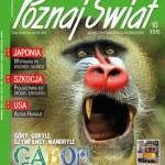Mandryl na okładce magazynu Poznaj Świat