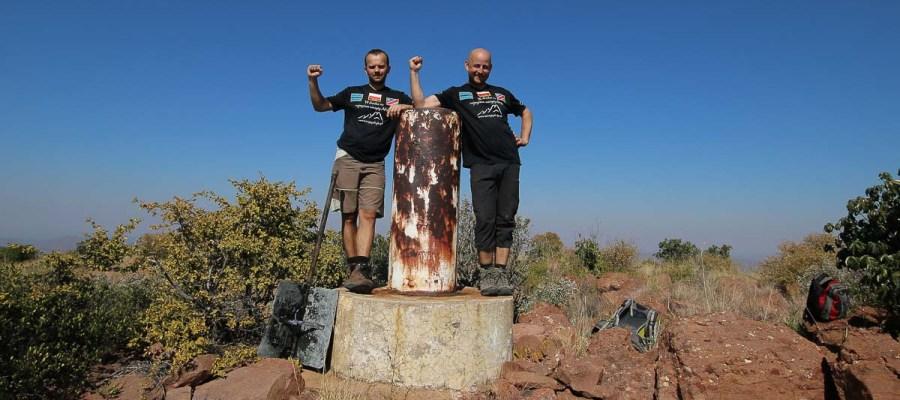 Otse Hill - najwyższa góra w Botswanie