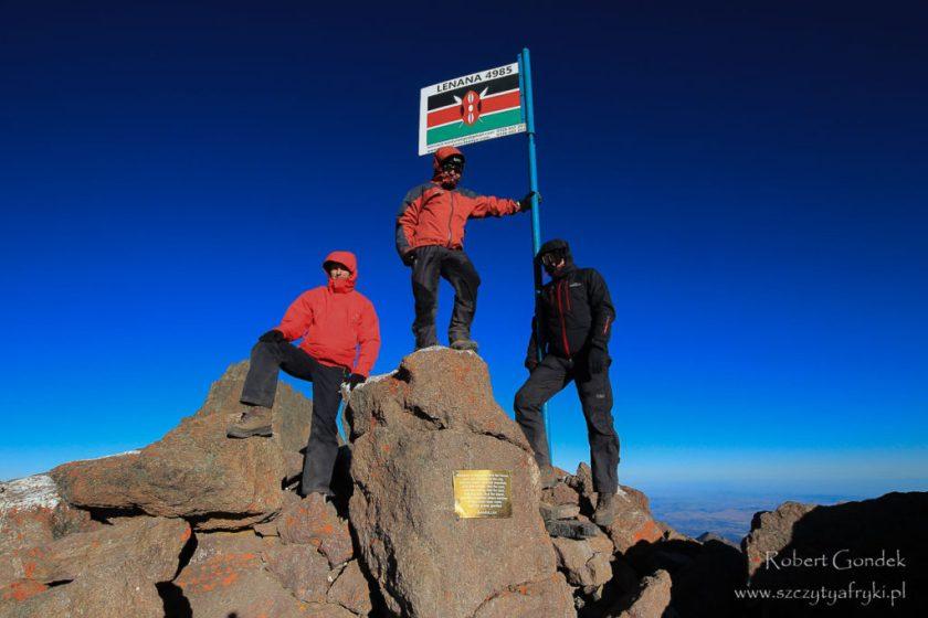 Kenia - Mount Kenya w 2012 roku