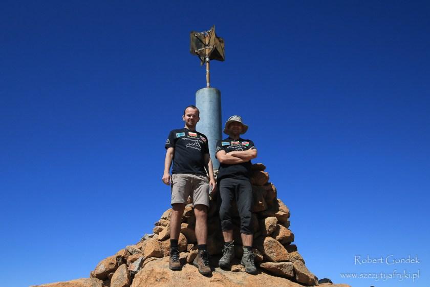 Königstein - najwyższa góra w Namibii